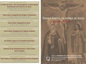 Cartel Seminario Tierra Santa